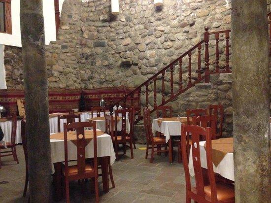 Hotel Suenos del Inka: Área de restaurante