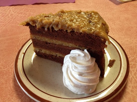 German Haus: German chocolate cake