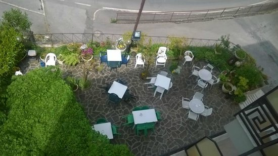 Hotel Garden: giardino visto dall'alto