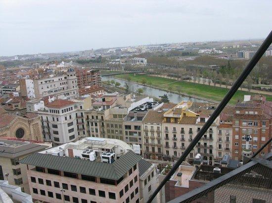 Turo Seu Vella: Vista de la ciudad desde el cerro