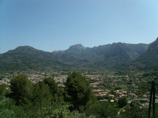 Ferrocarril de Soller: Panoramaperron onderweg van Palma naar Soler