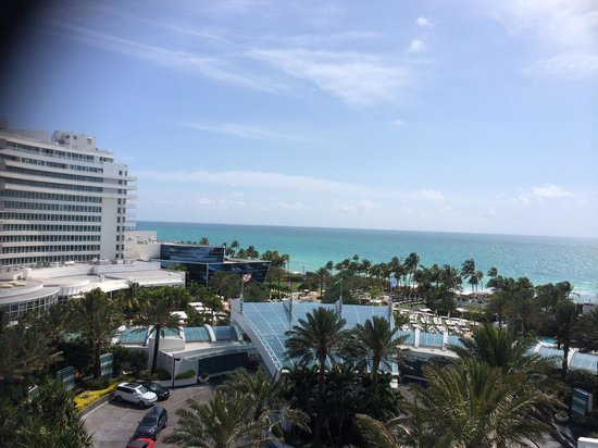 Fontainebleau Miami Beach : View from the balcony