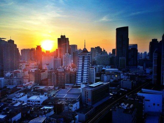 JW Marriott Hotel Bangkok: Terrific morning view