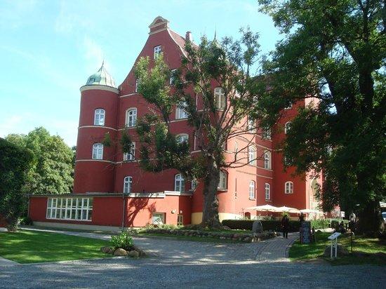Schloss Spyker: la facciata