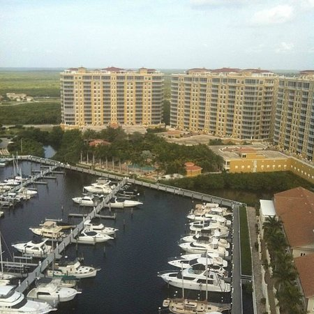 The Westin Cape Coral Resort At Marina Village: Vista da janela do apartamento no 17 andar
