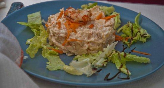 Casa de comidas Chema: Ensaladilla de marisco