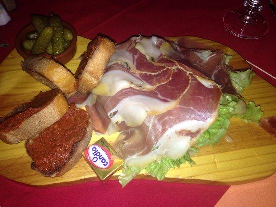 Casa bonita : La plancha serano (la salade est en dessous !)