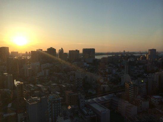 Tokyo Marriott Hotel: Morning View