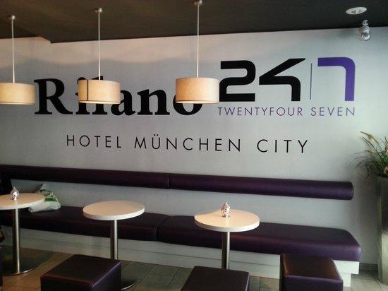 Rilano 24/7 München City: hotel inside