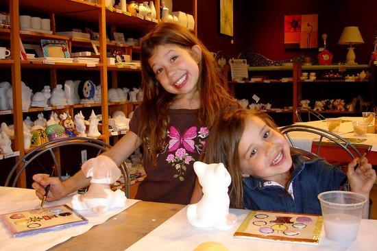 Crackpots Pottery Studio: Sister time!