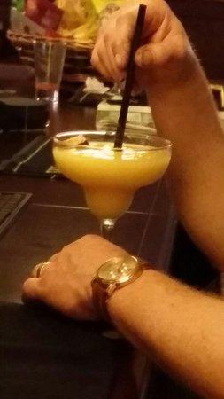 Callaghan European Tavern: A large mango & passion fruit margarihta