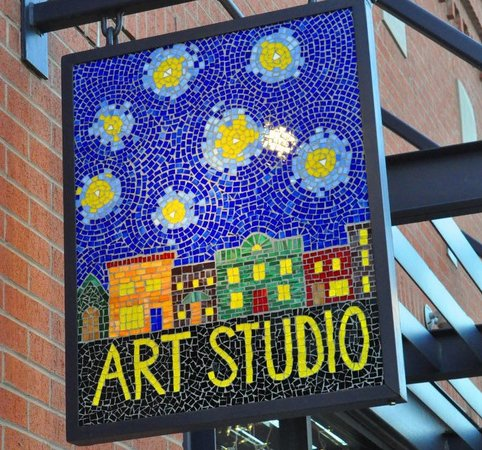 Crackpots Pottery Studio: Wanna try mosaics?  Come on in and we can show you how.  We have several projects to choose from