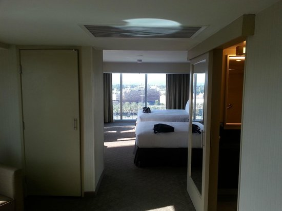 Hilton Anaheim: View for the door