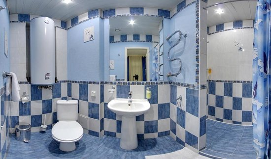 Nevsky Mayak Hotel: Ванная комната, Эконом