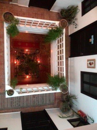 Riad Ocean Medina : patio