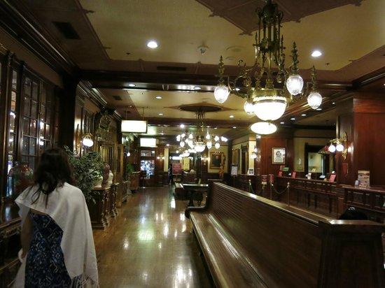 Main Street Station Hotel & Casino: Hotel lobby