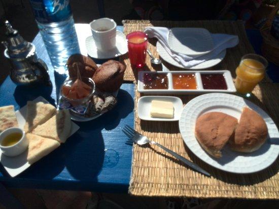 Riad Ocean Medina: desayuno