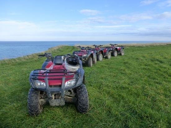 Glenstrae Farm 4 Wheel Adventures: Quad bikes