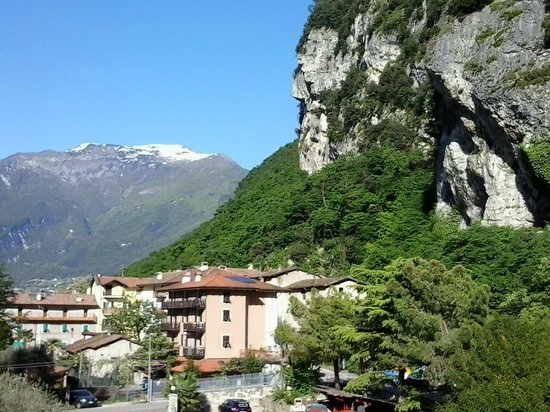 Residence Filanda: uitzicht vanuit balkon!