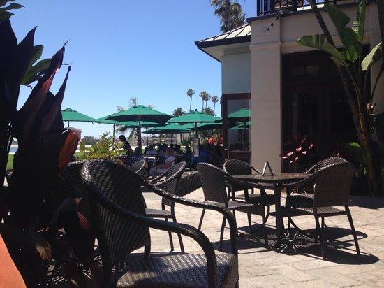 Catamaran Resort Hotel and Spa: Patio Dining