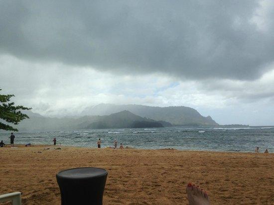 St. Regis Princeville Resort: Beach storm