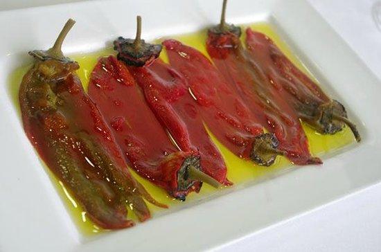 Restaurante Asador Taskas: Pimientos