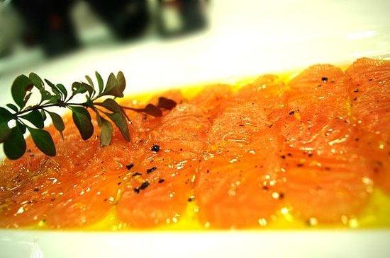 Restaurante Asador Taskas: Salmon Marinado a la Naranja