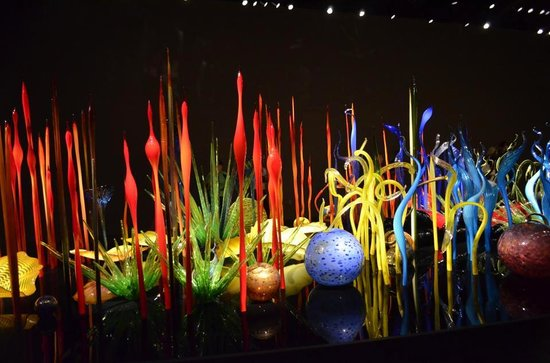 Chihuly Garden and Glass : inside