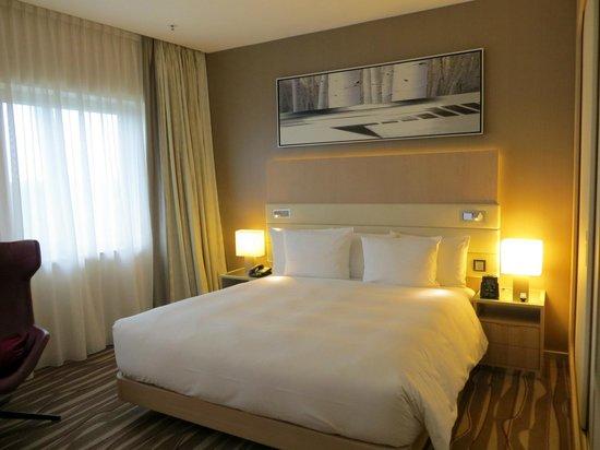 Hilton Frankfurt Airport Hotel: Zimmer