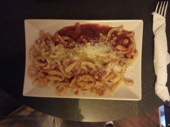 2 Spaghi: Pasta tomat Salami