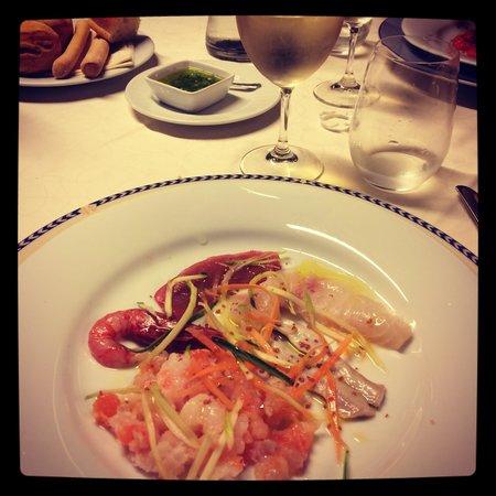 Da Palmiro: Antipasto pesce crudo