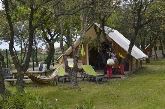 Lodges en Provence: lodge toile
