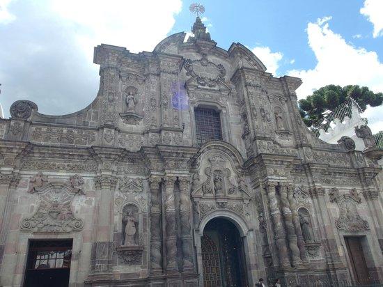 Iglesia de La Compania de Jesús: Fachada da igreja