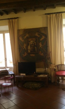 Residenza Giubbonari: Living room/ sitting area