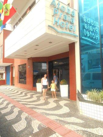 Atoba Praia Hotel: Entrada do Hotel