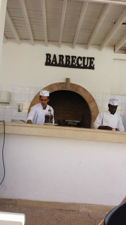 Hotel Djerba Haroun: barbecue