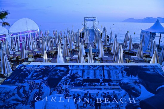 InterContinental Carlton Cannes: Carlton Beach
