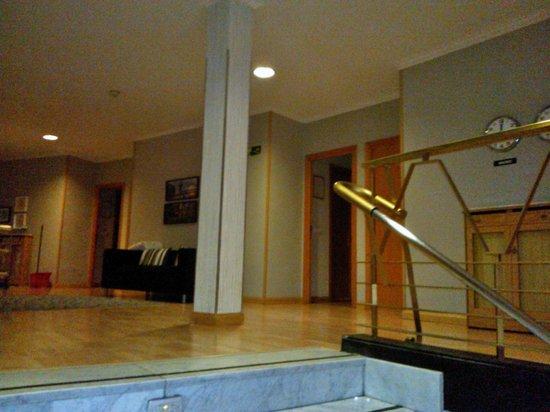 SHS Hotel Aeropuerto: Hall de segundo piso