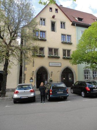Hotel Herrnschloesschen : frente del hotel
