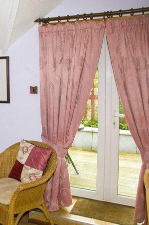Beech Hill House: Doors leading to Room 1 balcony