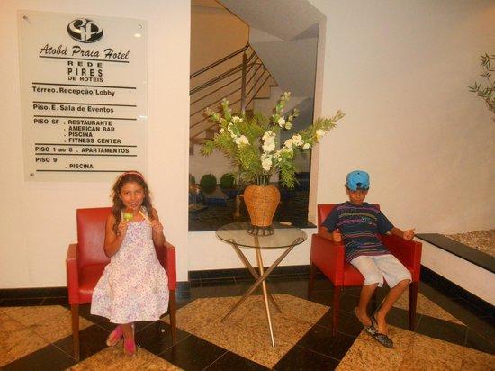 Atoba Praia Hotel: hall de Entrada
