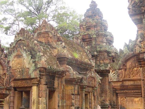 Banteay Srei : un des monuments