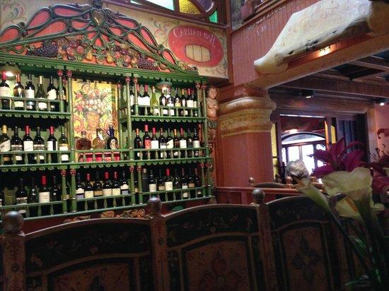 El Indio Feliz Restaurant Bistro: Bar del restaurante
