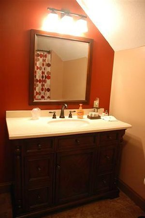 Terra Nova House B&B : Collegiate Suite Bathroom