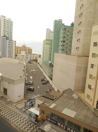 Atoba Praia Hotel: vista da janela do apartamento