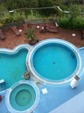 Hotel Residence Torre Sant'Angelo: bubbelbad/thermaalbad hot plus een gewoon bad
