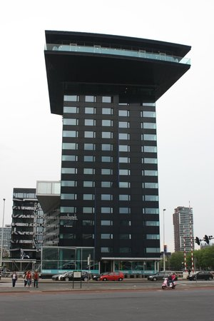 Inntel Hotels Rotterdam Centre: vista desde el puente erasmus.