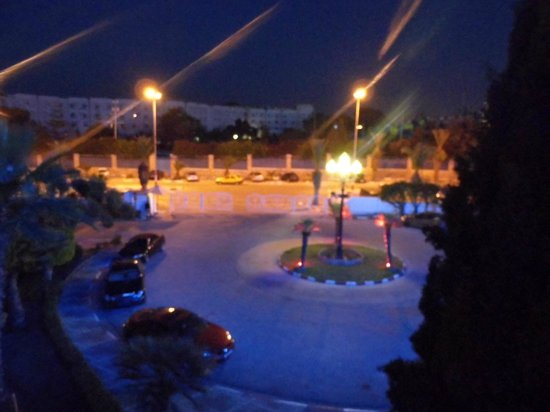 Golf Residence Hotel : night view from room