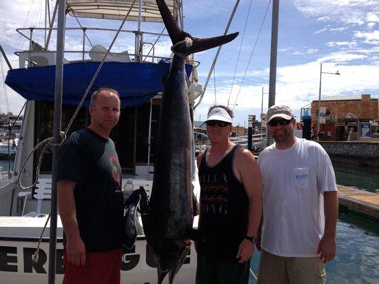 JC's Sportfishing : Marlin caught on Panga Trip