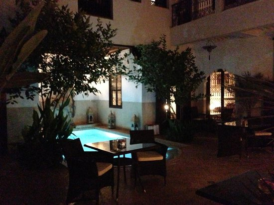 Riad Assakina : Outdoor area